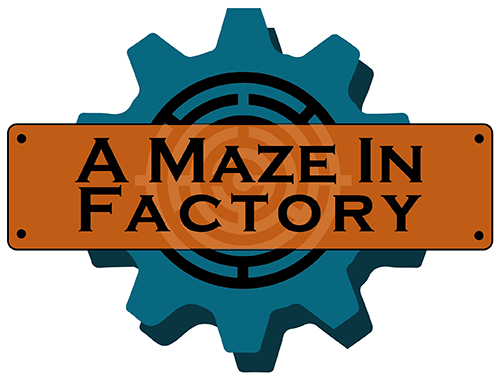 logo a maze in factory